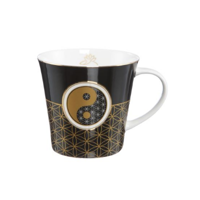 Yin Yang Black - Coffee-/Tea Mug