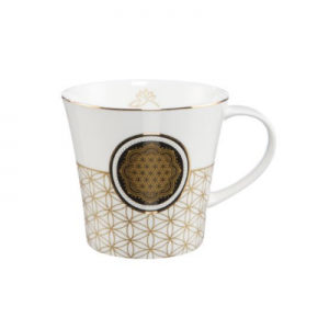 Flower of Life White - Coffee-/Tea Mug