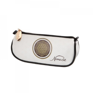 Flower of Life White - Pencil Case