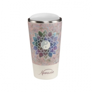 Mug to Go - lotus flower rose