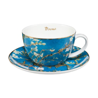 Tea Cup with saucer - Almond Tree VAN GOGH