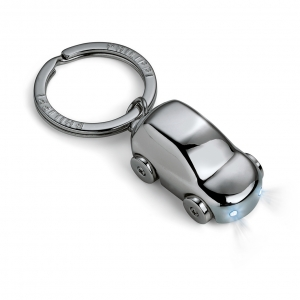 CRUISER keyring pendant, illuminated, black