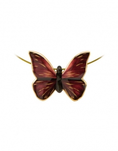 Butterfly Red - Necklace Artis Orbis Joanna Charlotte
